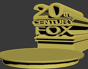 20th century fox 3D print model