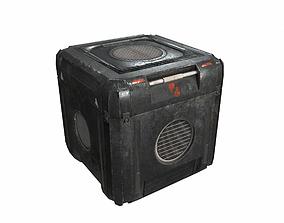 Sci Fi cargo crate 2 PBR 3D asset