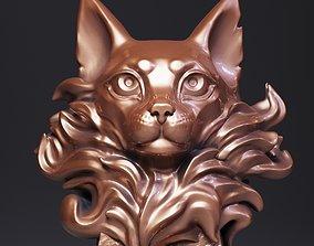 3D printable model printable Cat Head