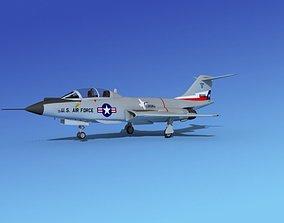 McDonnell F-101B Voodoo V08 3D model