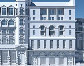 Commercial Building Facade 11 3D model