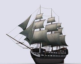 Fregat 3D asset