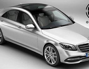 Mercedes S Class 2018 3D