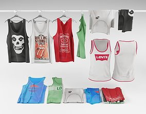 Tank top collection 3D