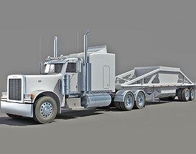 3D model Bottom Dump Truck