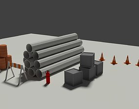 3D model Industrial Misc Elements Pack