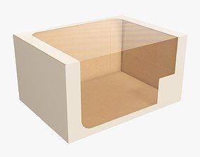 Cardboard display box retail 09 3D