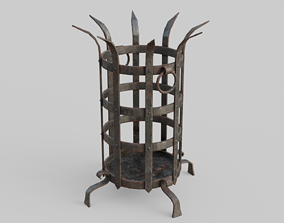 Dungeon Brazier 3D model