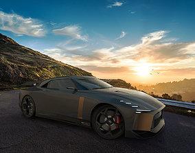 3D model Nissan GT-R 50 by italdesign