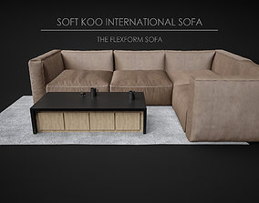 3D model Sofa Soft - Home and Office Furniture 02