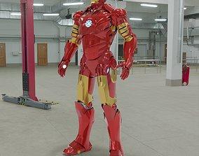 3D Iron Man Mark III
