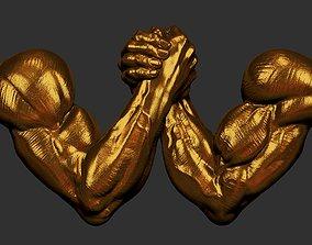 3D print model arm wrestling v3
