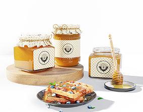 Honey set 3D