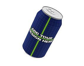 Aluminum Can - Beer and Drink Can - Lata de 3D model 1