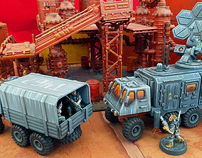 3D printable model Extra Truck Bodies - 28mm Sci-Fi