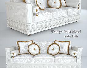 3D Dali Sofa 3-seater