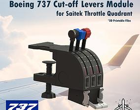 3D printable model Start Lever for Saitek Throttle