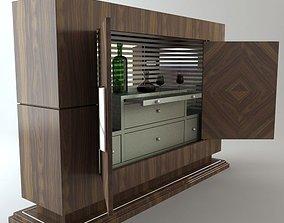 Serving Bar Cabinet 3D model