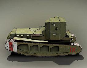 3D Mk-A Whippet England 1918