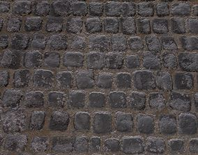 cobblestone Tiled 4K 3D model