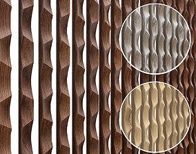 3D Linea mural Woodlabo