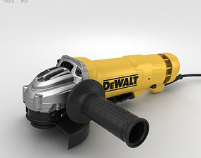 3D Angle Grinder tool