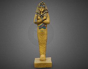 Plastic Egyptian Statue 3D