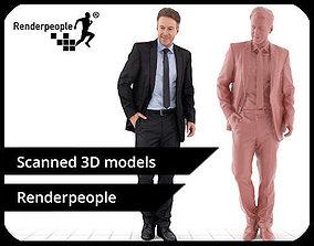 Dennis 004 Standing Business Man 3D