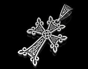 3D printable model Celtic cross 3