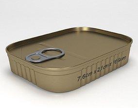 tin can type5 3D model