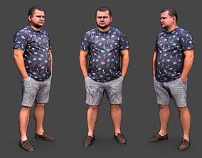 character Stylized Man Character 3D