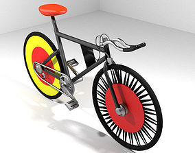 3D model Bicycle - Track