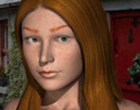 3D Irish Freckle texture for Daz figures