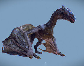 Irval the Wyvern 3D asset