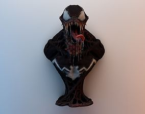 Venom Torso 3d Model