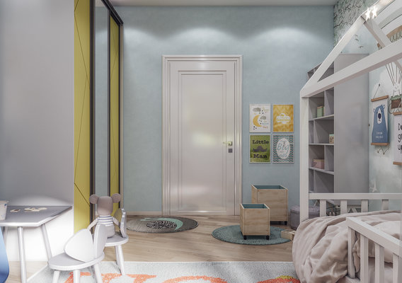Bedroom for family with child room