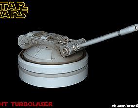 Star Wars Light Turbolaser I 3D rigged