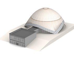 Planetarium Bochum 3D model