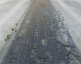 3D asset realtime PBR old road