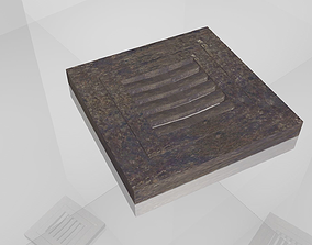 Street Drain or Water Drain 3D model