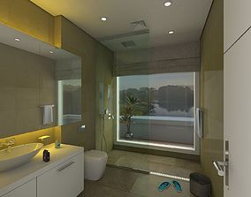 Modern Bathroom 3D
