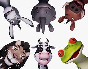 3D Toon Humanoid Animals Vol 1