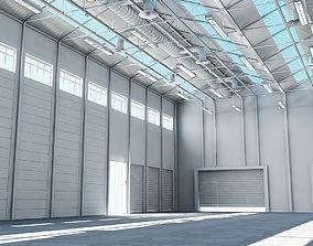 Warehouse 3d Model interior
