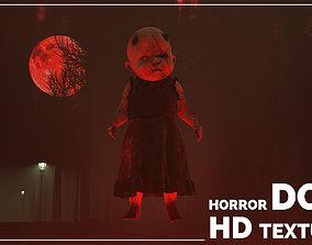 3D Horror doll