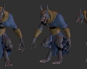 Anubis 3D model god