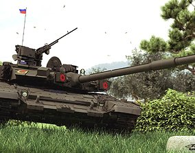 T-90A Russian Main Battle Tank 3D model