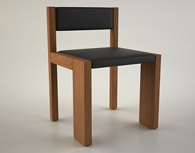 Dining Chair by Marmol Radziner 3D
