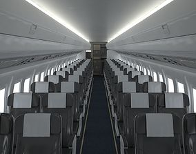 3D Airplane Cabin V3