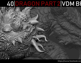 Zbrush - Dragon VDM Brush Part 2 3D