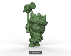 3D model Bruenor Wulfgar and Drizz